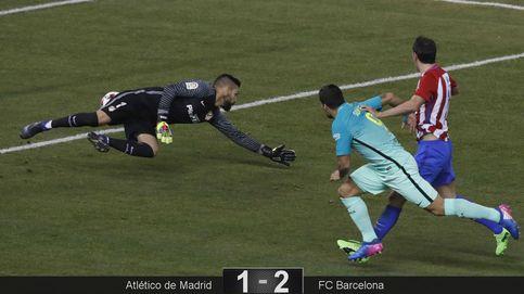 El Barça más antinatural golpea al Atleti y le aleja de su final especial