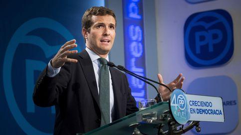 Casado dice a los independentistas que pueden acabar como Lluís Companys