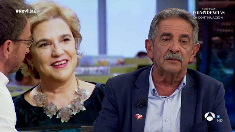 Foto: Revilla, en 'El hormiguero'. (Antena 3)
