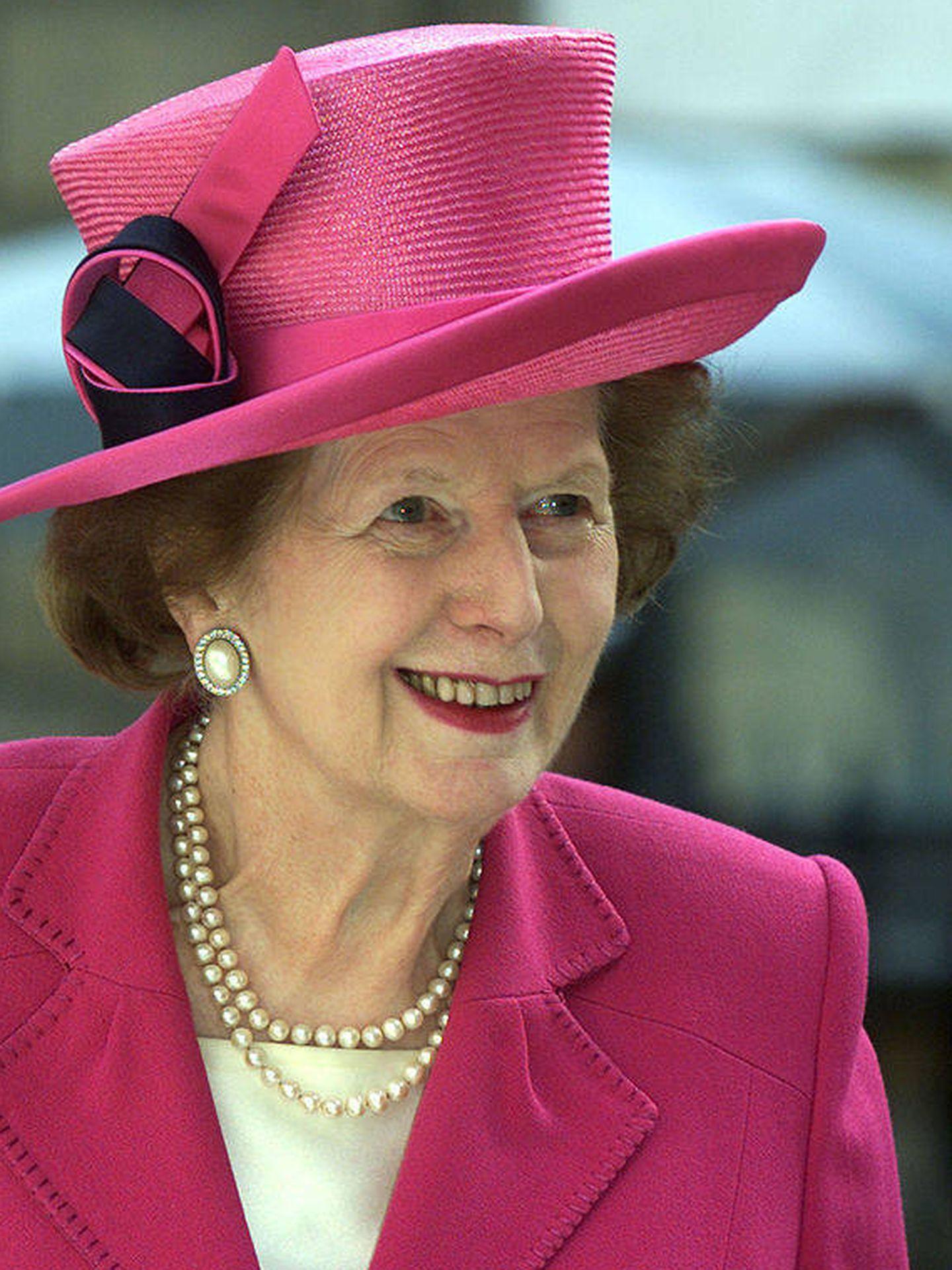 Margaret Thatcher, en una imagen de archivo. (Getty)