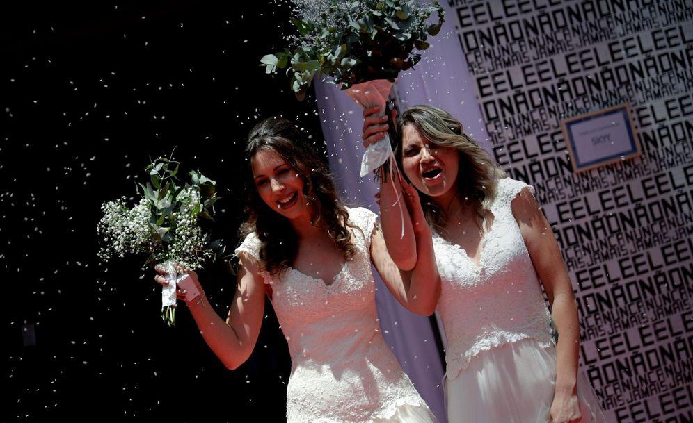 Foto: Una boda en Brasil. (EFE)