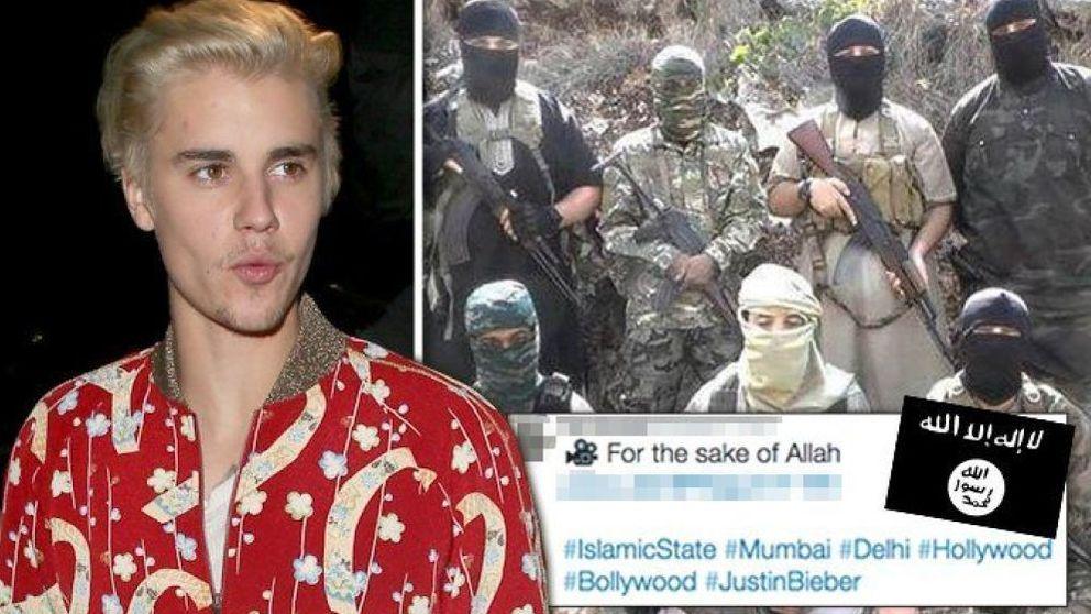 El ISIS hackea el Twitter de Justin Bieber para difundir un sangriento vídeo