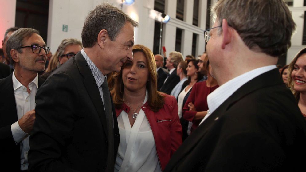 Foto:  El socialismo español exhibe unidad en un emotivo último adiós a Chacón