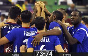 Francia salva in extremis la papeleta ante Serbia y mira de reojo España