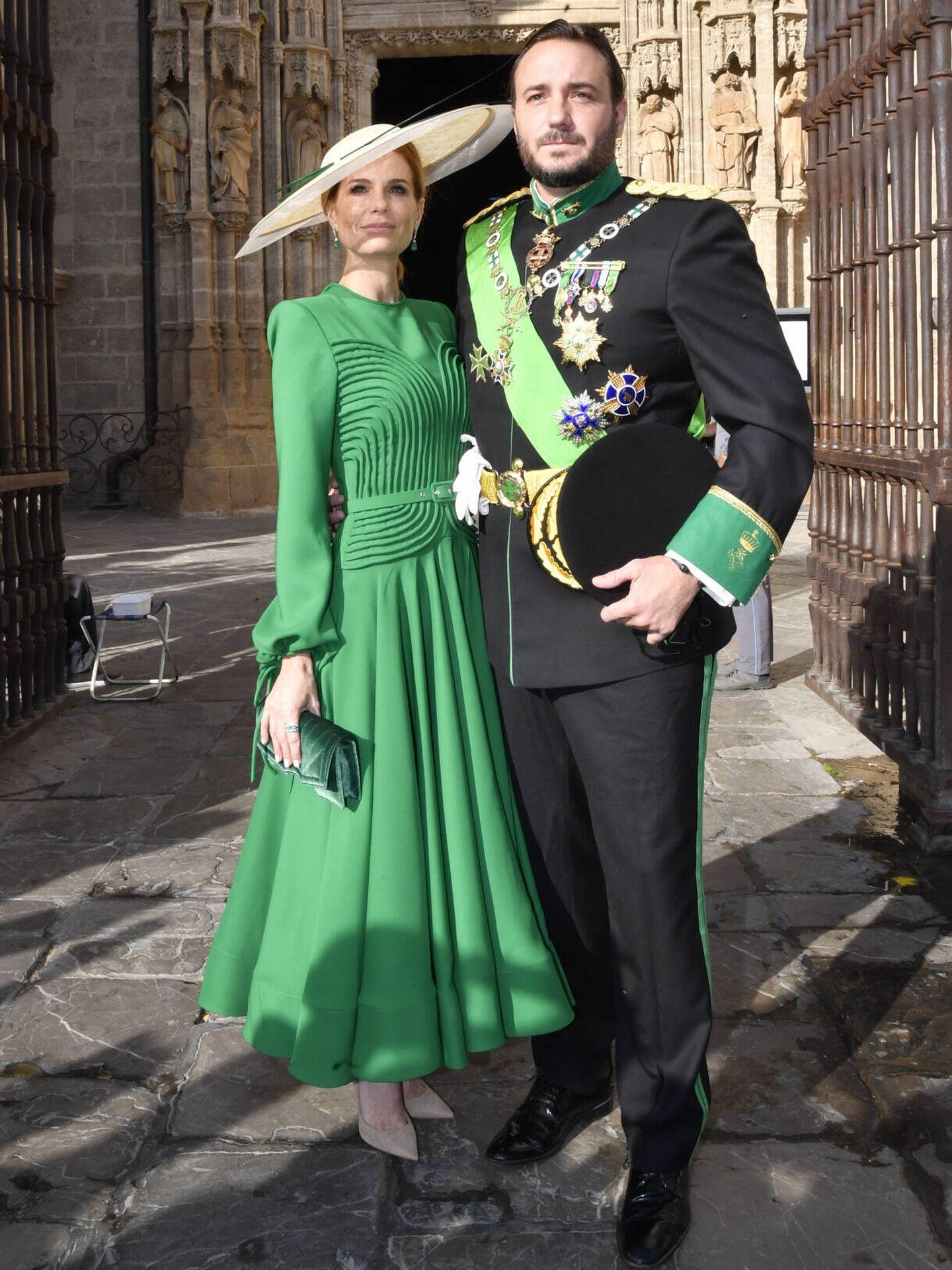Olivia y Francisco de Borbón. (Gtres)