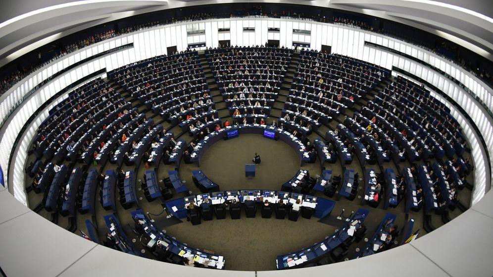 Foto: Pleno del Parlamento Europeo en Estrasburgo. (EFE)