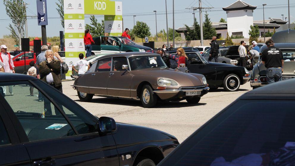Cerca de 500 amigos de la marca Citroën se reúnen en Madrid