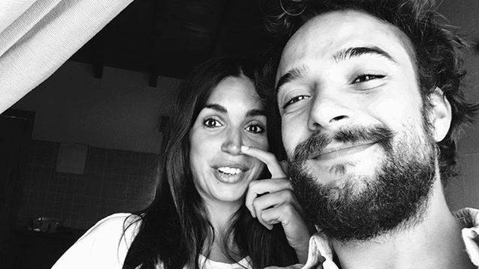 Foto: Gonzalo, con Elena Furiase. (Instagram)