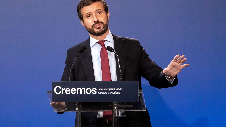El líder del PP, Pablo Casado. (EFE)