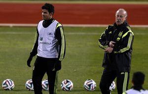 Del Bosque duda con Diego Costa y dice no a Iturraspe, Moreno y Navas