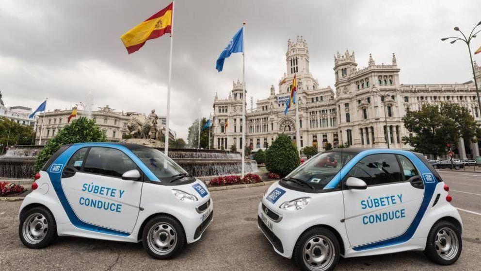 Car2Go, Uber... Ofensiva del transporte alternativo ante el caos en Madrid