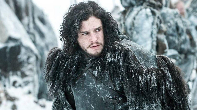 Kit como Jon Snow. (HBO)