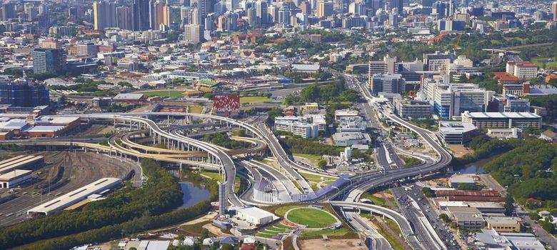 Foto: Autopista Airport Link, construida por Leighton Holdings en Brisbane. (Reuters)