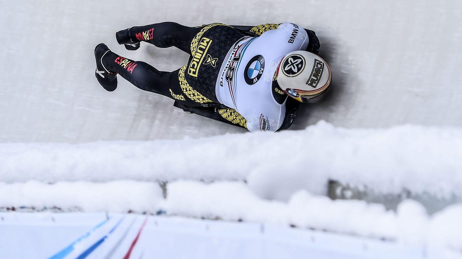 Foto: Mirambell finalizó 16º en Altenberg (Filip Singer/EFE-EPA)