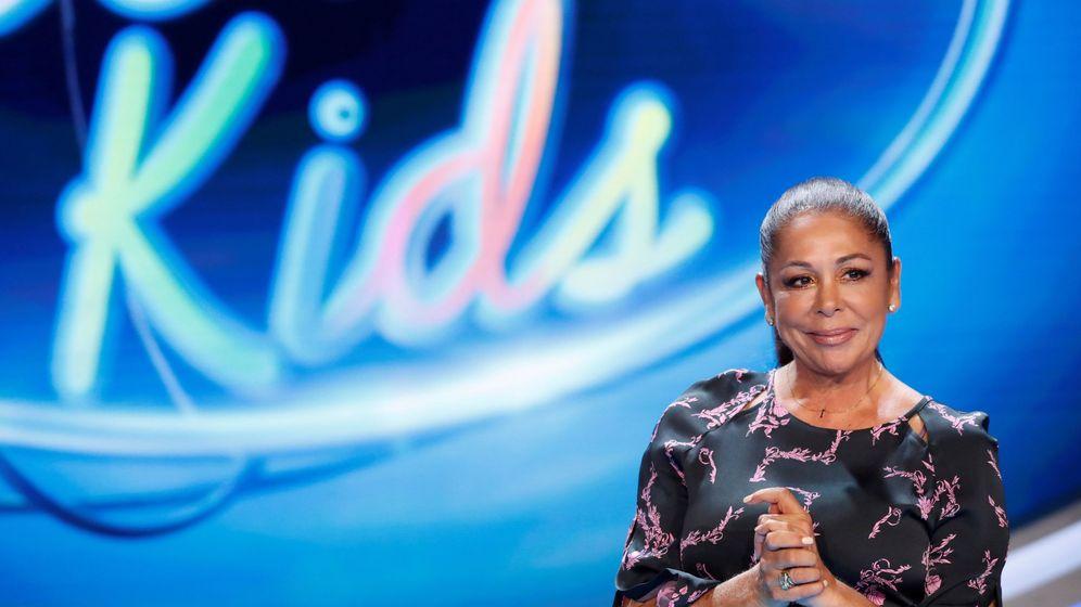 Foto: Isabel Pantoja, en la presentación del concurso de talentos 'Idol kids'. (EFE)
