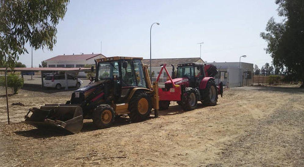 Foto: Fotos de archivo de las obras de Gas Natural en Doñana. (WWF)