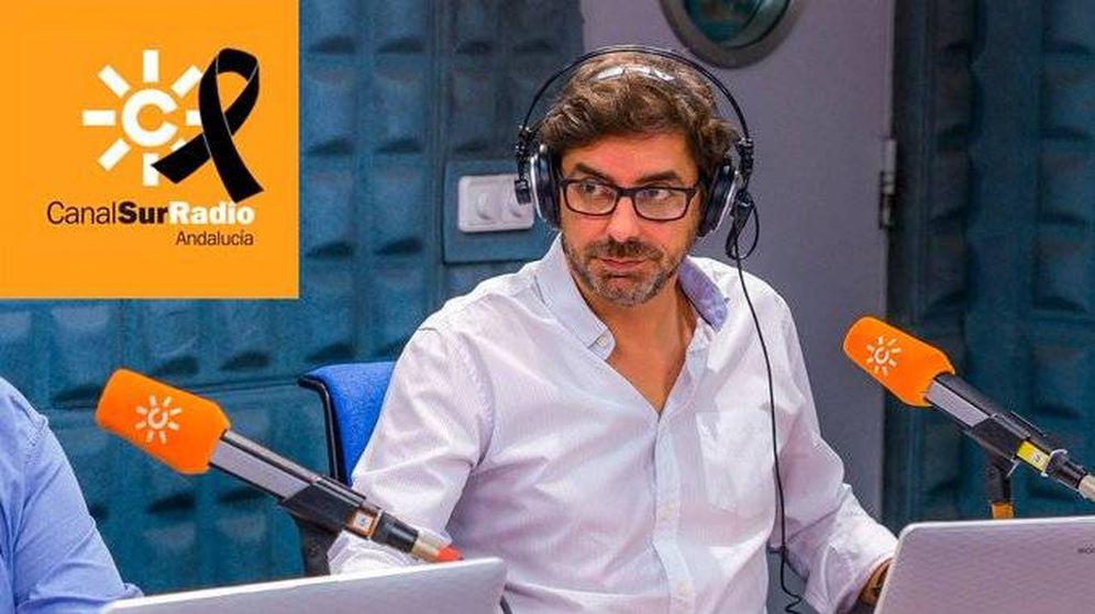 Foto: Valentín García, en una imagen difundida por Canal Sur.