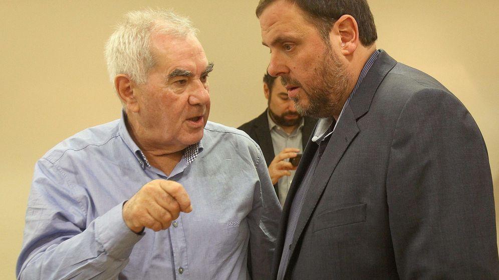 Foto: Ernest Maragall y Oriol Junqueras en una imagen de archivo. (EFE)
