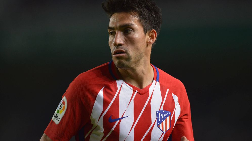 Foto: Gaitán ha fracasado estrepitosamente en el Atlético. (Cordon Press)