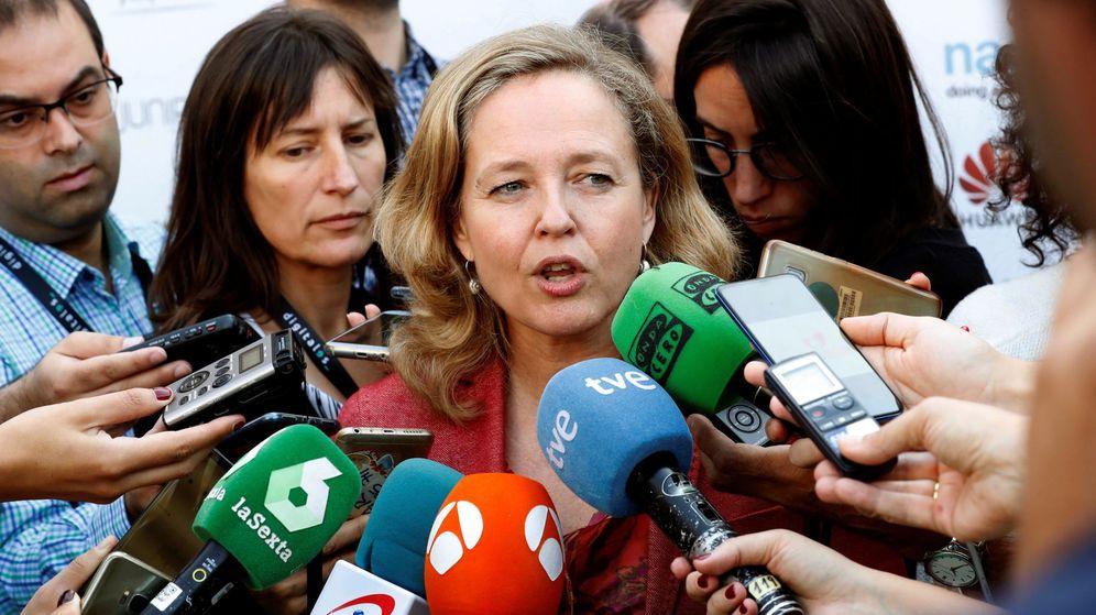 Foto: La ministra de Economía en funciones, Nadia Calviño. (EFE)