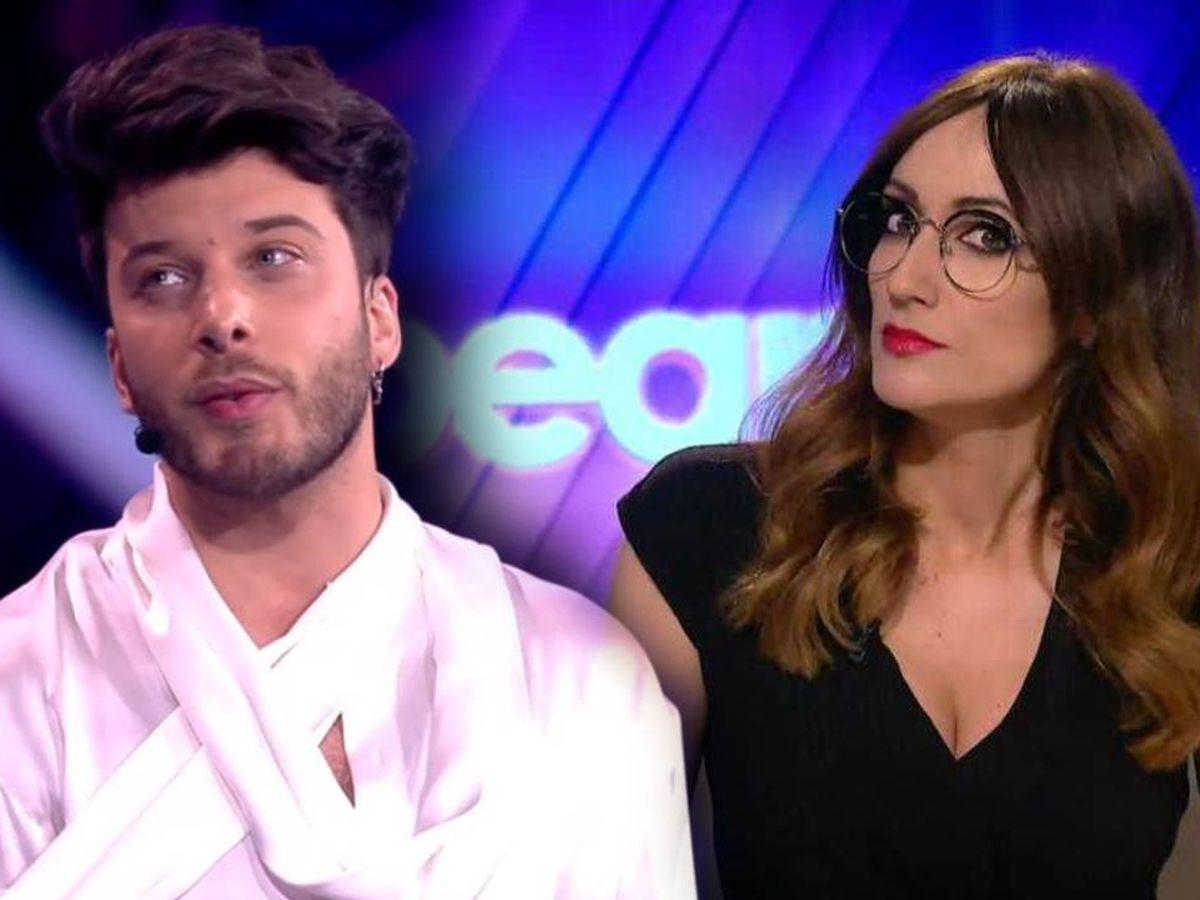 Foto: Blas Cantó y Ana Morgade. (RTVE y Atresmedia Televisión)