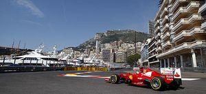 Alonso ilusiona marcando el mejor tiempo en los primeros libres del GP de Mónaco