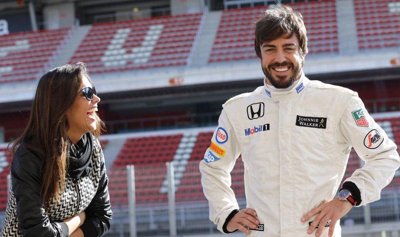 """Foto: Twitter - Fernando Alonso a Lara: """"Gracias por cuidarme y soportarme este último mes"""""""