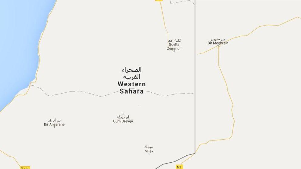 Piden a Google Maps que corrija su mapa donde sitúa el Sáhara Occidental
