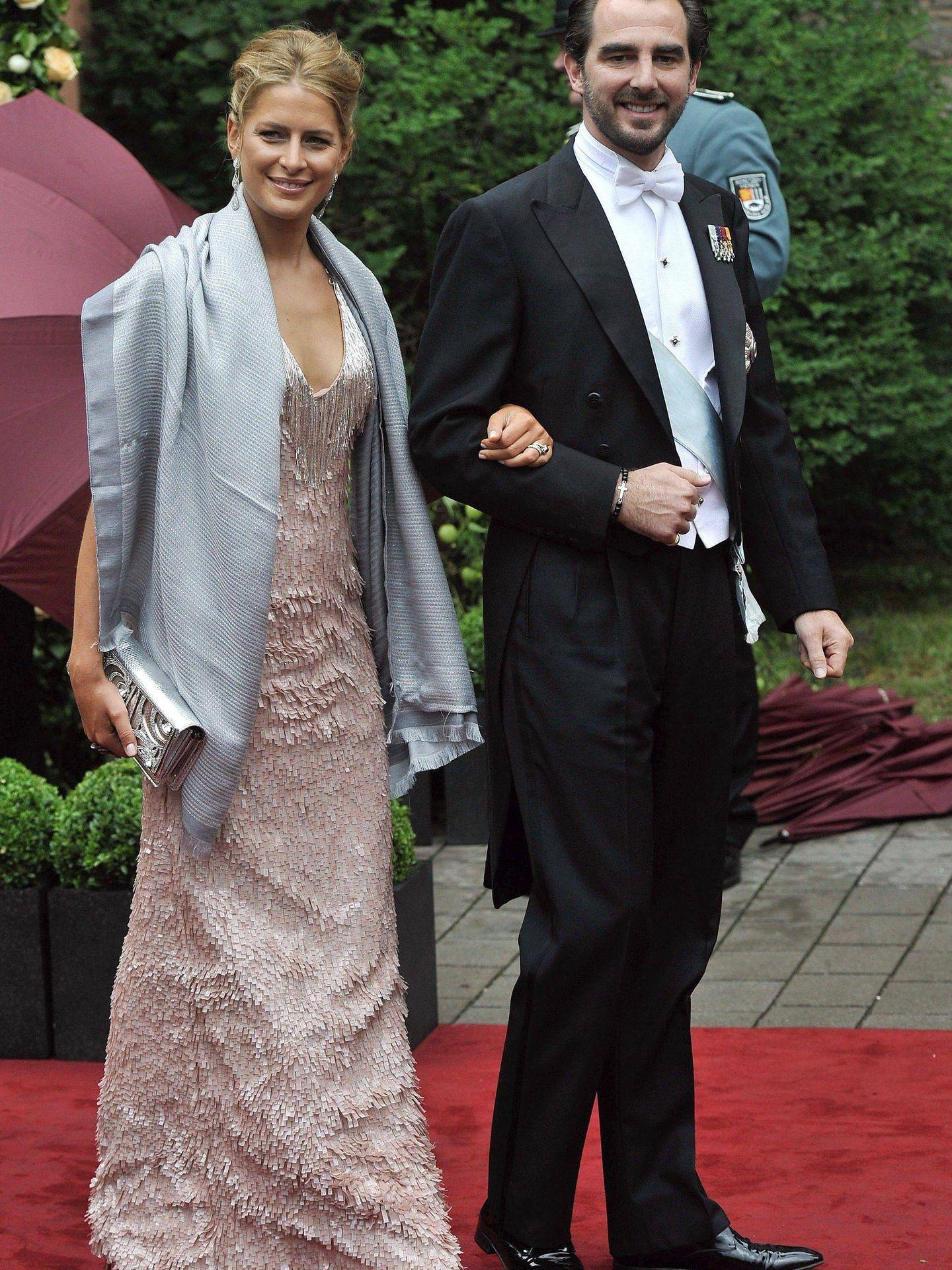 Nicolás y Tatiana, en una imagen de archivo. (EFE)