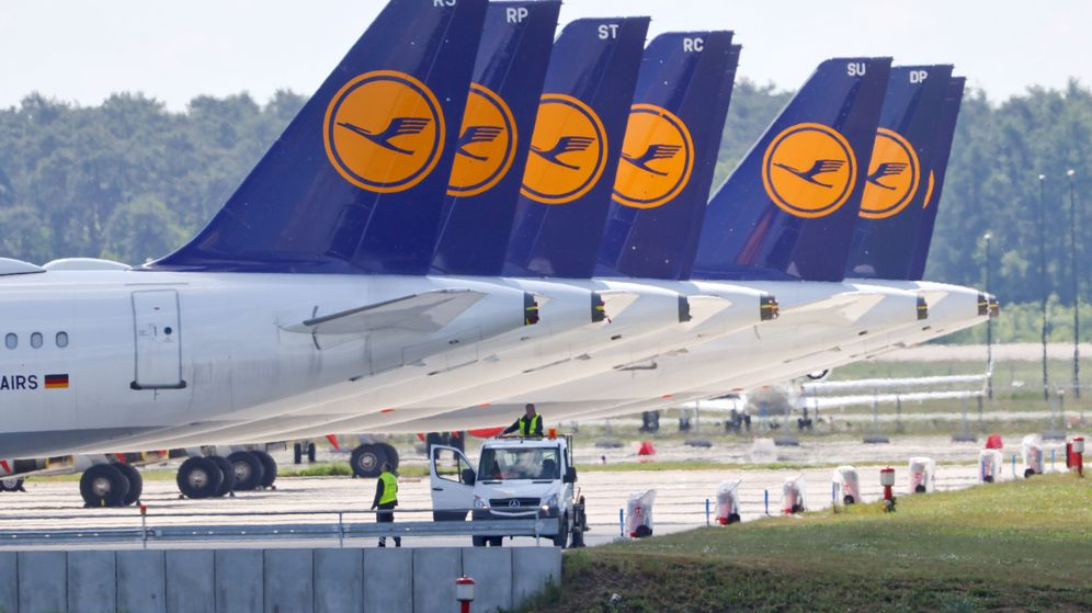 Foto: Aviones de Lufthansa. (Reuters)