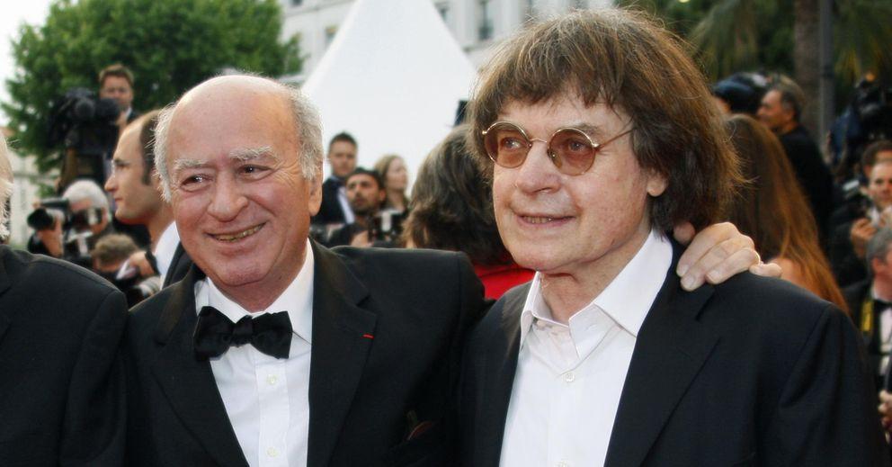 Foto: Los dibujantes franceses Georges Wolinski (a la izquierda) y Cabu (a la derecha), en Cannes, en 2008. Ambos asesinados esta mañana. (Reuters)