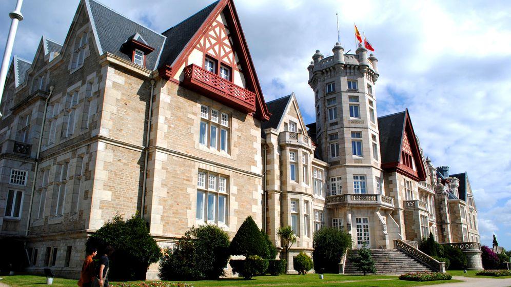 Foto: Palacio de la Magdalena, en Santander. (CC/Davroiz)