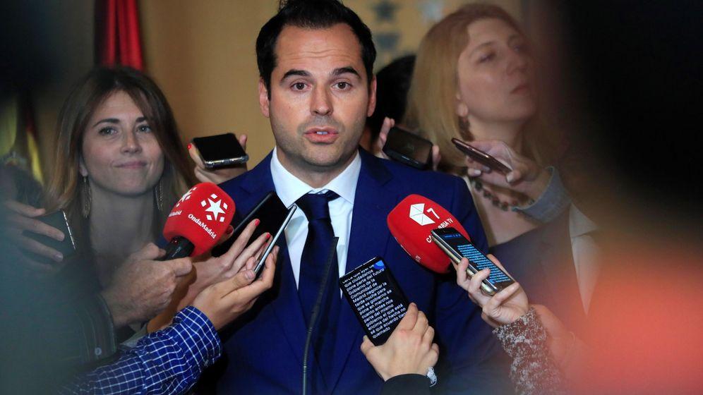 Foto: Ignacio Aguado, líder de Ciudadanos en Madrid