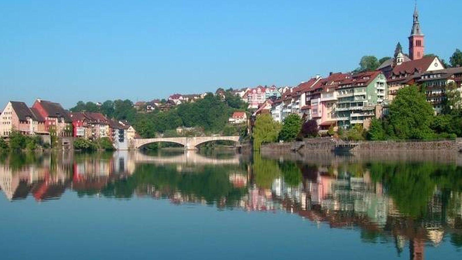 Foto: La ciudad de Laufenburg, en Suiza