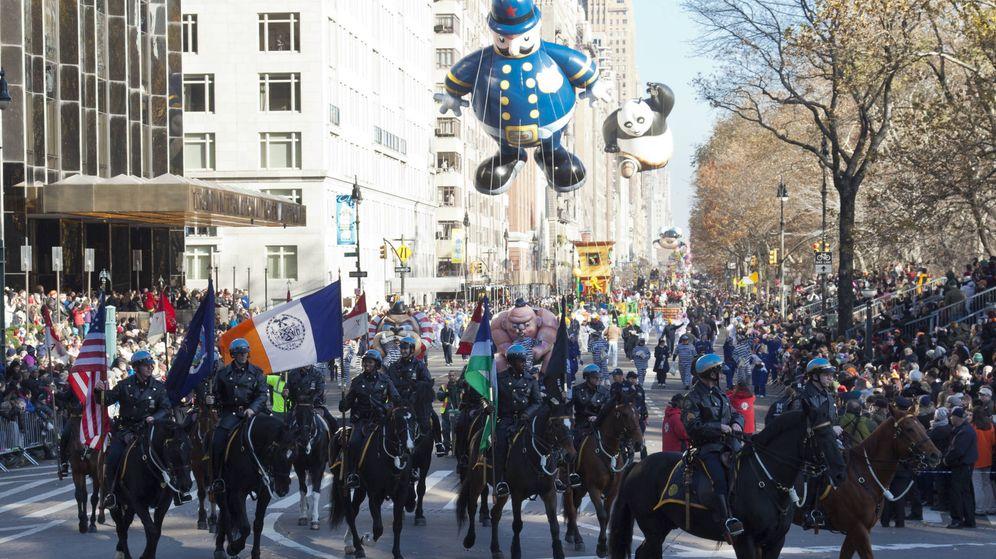 Foto: Desfile de Thanksgiving. (Luján Artola)