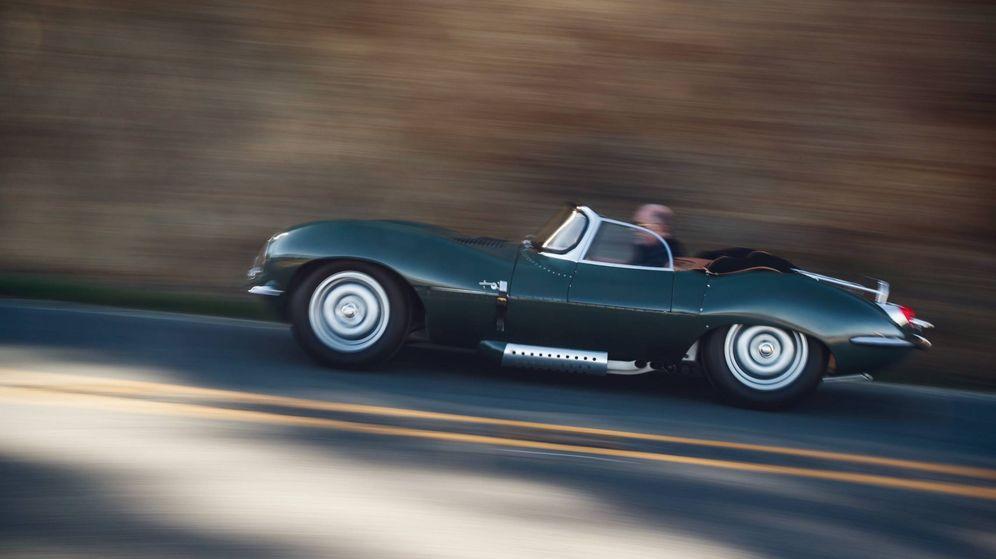 Foto: Jaguar XKSS de 1957.