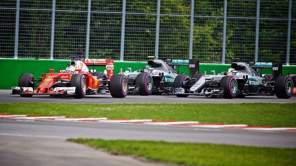 Cómo Ferrari y Red Bull están echando el gancho poco a poco a Mercedes