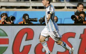 Messi salva del sonrojo a Argentina y borra el sueño iraní con otro tanto