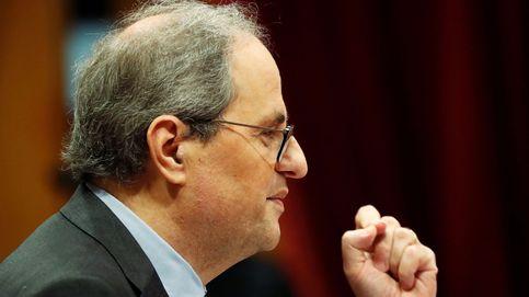 """Torra califica de """"venganza de Estado"""" su posible inhabilitación en los tribunales"""