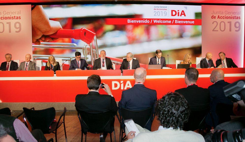 Foto: DIA celebró una junta de alta tensión este miércoles. Imagen: DIA
