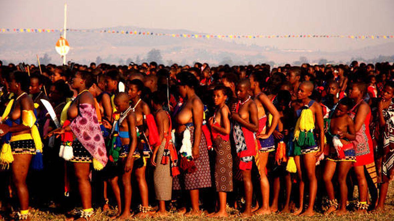 Suazilandia, Reed Dance. (J.B.)