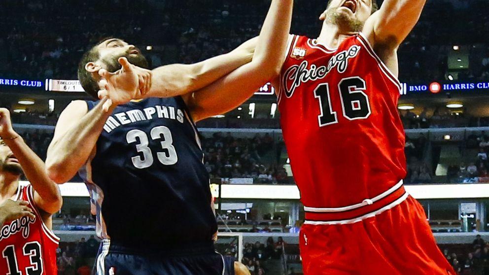 Pau lidera otra victoria de Bulls con otro 'doble-doble' frente a su hermano Marc