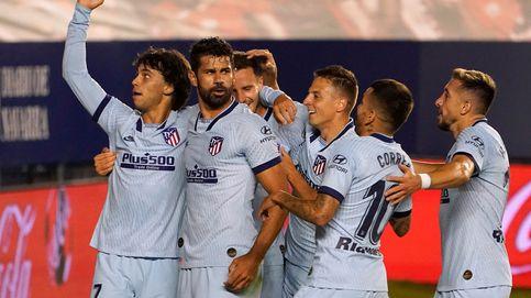 El Atleti recupera la ilusión (y a Joao Félix) con una goleada a Osasuna (0-5)