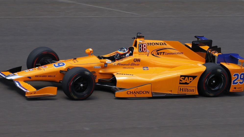 Foto: Las mejores imágenes de la primera semana de Fernando Alonso en la Indy