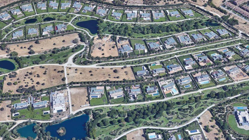Foto: Vista aérea de la urbanización La Finca. (Google Maps)