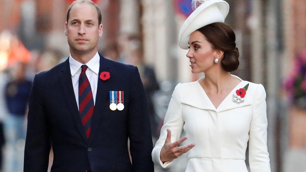 Foto: Guillermo y Kate, en una imagen de archivo. (Reuters)