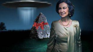 El enigma de Zarzuela: Letizia, Sofía y la piedra 'extraterrestre' de J.J. Benítez