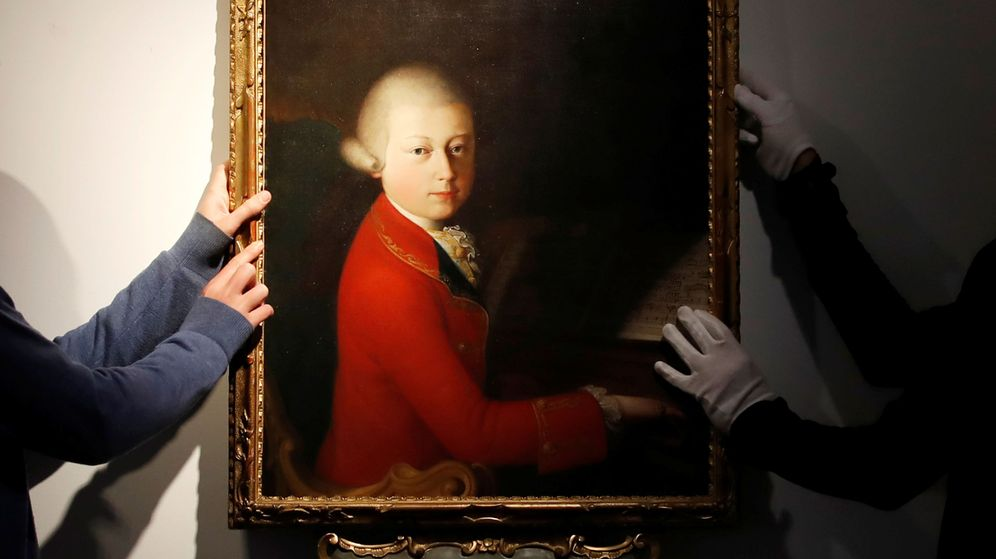 Foto: Retrato de Wolfgang Amadeus Mozart (REUTERS)