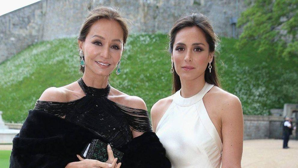 Preysler y Tamara Falcó, con mascarillas cool: la foto más esperada de la cuarentena
