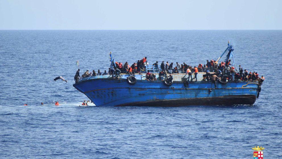 Rescate 'in extremis' de 500 refugiados en Libia